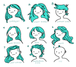 hair ideas by catfinite