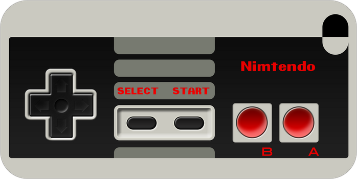 iPhone 4 NES Controller Skin by torokun