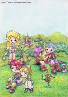 Chrono Trigger by Bubble-Chubi
