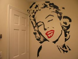 Marilyn Monroe by needles0101101