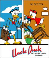 Uncle Duck Threadless entry by brodiehbrockie
