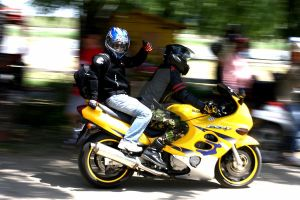 Motorbikes in Action by Liviu-Terinte