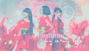 Perfume Merry Christmas and Happy New Year 2013 by Fantajikyoui