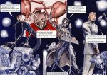 Mr Fantastic-Ant Man-Doktor Sleepless-Luthor BAND! by Nick-Perks