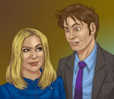 The two dorks in the TARDIS by JesIdres