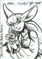 may Sketch Card by SmudgeDragon