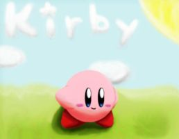 Another 3D Kirby by The-Super-Brawl-Girl