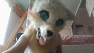 Fursuit head?????? by silverXdragon-CotC