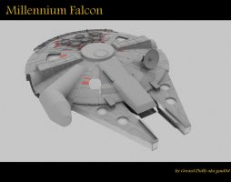 Falcon-001 by gmd3d