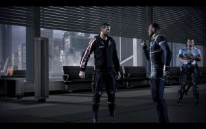 Mass Effect 3 - Male Casual Outfit 3 by Revan654