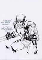 Wolverine sketch - April 2008 by SpiderGuile