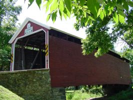 Jack's Mountain Road Covered Bridge 2 by I-Heart-Photos