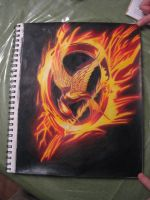 Hunger Games Mocking Jay by RachaelSelk