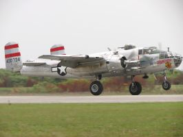 B-25 Rollout by InDeepSchit