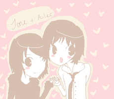 Jane and Alec by shiriomi