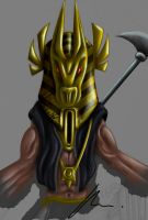 Anubis Mask by 2MarK4