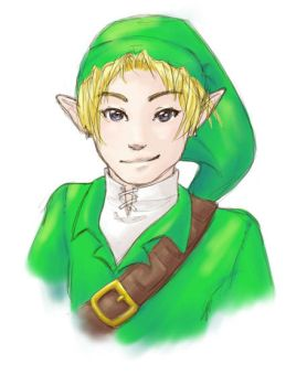 OoT Link by Jequila