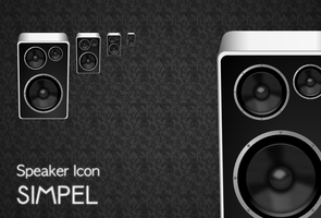Speaker Icon by simpel-stil