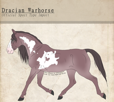 Dracian Warhorse Import| 101 by TheMs0kitty