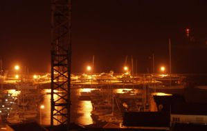 marina at night by miguel-deviant