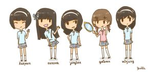 shinee girls by keyandsnickers