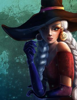Glamorous Witch by AsyaNor
