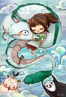 Derp! Spirited Away by soli-poo