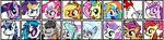 My Little Pony Pixel Project Overload Preview by Kevfin