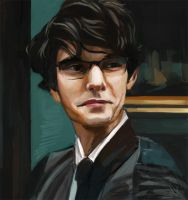 Ben Whishaw by Whimsnicole