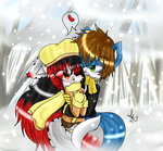 .:Love In The Snow:. by Anini-Chu