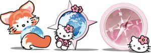Hello Kitty - Icons Browsers by 3dera
