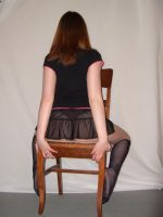 Ass on a chair-Stock by Swordexpert-Stock