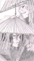Itachi and Kisame by bobcat86