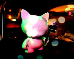 The Cat is now Pink by WeaselTea