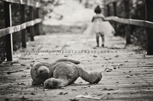 Abandoned Teddy by CrystalBroussard