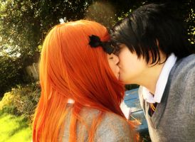 James/Lily - Kiss on the Lips by sparrowhawk51