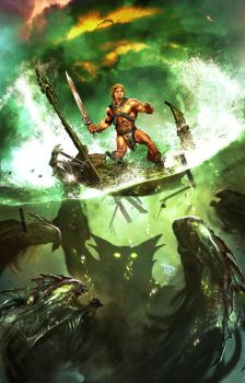 Heman MOTU cover 3 by Dave-Wilkins