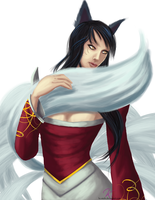 LoL: Ahri by Kc-mishi