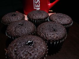 Brownies and Nescafe by ossie-eat-world