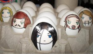 Dethklok easter eggs by silenthillnurse