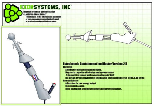 ExorSystems Equipment: Blaster by Octavirate