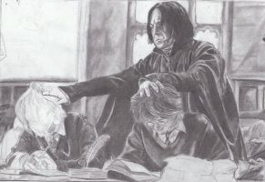 Study, or Snape will get you WIP by MelieseReidMusic