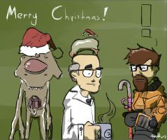 A Half-Life Holiday by Araiguma