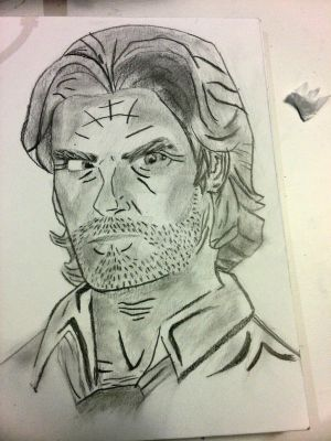Bigby From The Wolf Among Us by MattHardyGirl