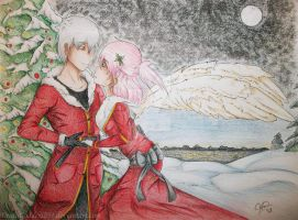 A Falling Angel's Christmas by DeathGoddess231