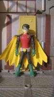 JLU: BATMAN INC. ROBIN DAMIAN WAYNE by monitor-earthprime