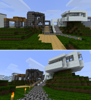 Minecraft premium houses by TrantSteel
