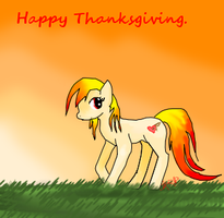 Thanksgiving Pony by TaintedSimplicity