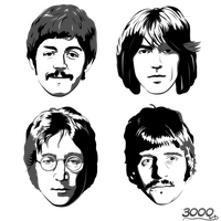 The Beatles by Sebi3000