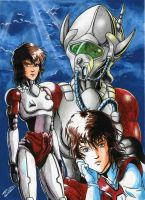 Robotech Southern Cross - Marie Crystal by robersilva